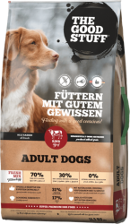 The GoodStuff Dog Adult Fresh Mix Beef 12,5kg