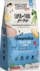 Mac´s Grain Free Dog Adult Monoprotein Fresh Chicken & Potato 3kg