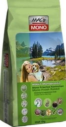 Mac´s Grain Free Dog Adult Monoprotein Fresh Rabbit & Potato 12kg