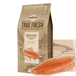 Carnilove True Fresh Dog Adult Fresh Fish with Chickpeas and Apples 4kg