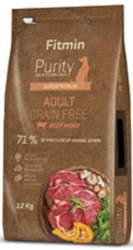 Fitmin Dog Purity Grain Free Adult Beef  2kg