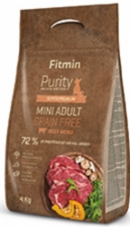 Fitmin Dog Purity Grain Free Mini Adult Beef  800g
