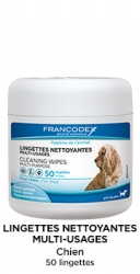 Francodex Lingettes Nettoyantes Multi Usages 50ks
