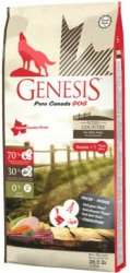 Genesis Pure Canada Grain Free Dog Senior Wide Country 11,79kg