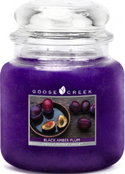 Goose Creek Candle Black Amber Plum 450g