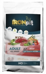 IRONpet Dog Adult Beef & Rice 12kg