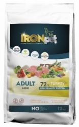 IRONpet Dog Adult Mini Breed Turkey & Rice 12kg
