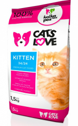 Nativia Cat´s Love Kitten 1,5kg