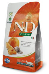 N&D Pumpkin Grain Free Cat Herring & Orange  300g