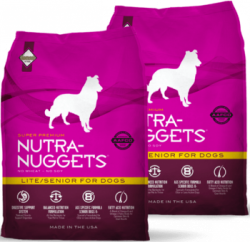 Nutra Nuggets Dog Lite and Senior 2x15kg
