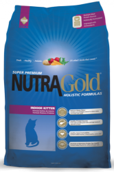 NutraGold Holistic Indoor Cat Kitten 3kg