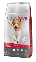Nutrilove Dog Adult Small Breed with Fresh Chicken 1,6kg
