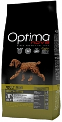 OPTIMAnova Grain Free Dog Adult Mini Breed Digestive Rabbit 8kg