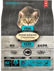 Oven-Baked Tradition Grain Free Cat Adult Fish 2,27kg
