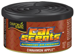 CALIFORNIA SCENTS Automotive Air Freshener Cinnamon Apple