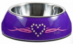 Rogz Bowlz Miska Bubble Purple 160ml