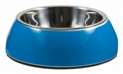 ROGZ BOWLZ Bubble miska S Turquoise Chrome
