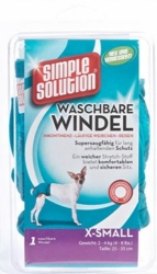 Simple Solution Washable Nappy 1ks    XS