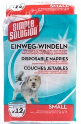 Simple Solution Disposable Nappies 12ks   S