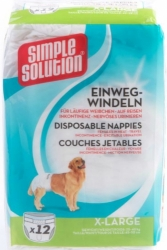 Simple Solution Disposable Nappies 12ks XL