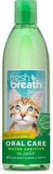 TropiClean Fresh Breath Oral Care Water Additive for Cats 470ml