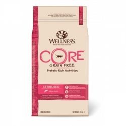 Wellness CORE Grain Free Cat Sterilised Salmon Recipe 1,75kg