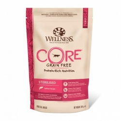 Wellness CORE Grain Free Cat Sterilised Salmon Recipe  300g