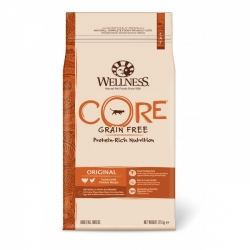 Wellness CORE Grain Free Cat Original Turkey with Chicken Recipe 1,75kg